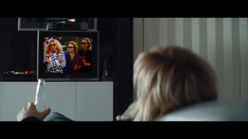 Sony TV in The Dirt (2019) Movie Product Placement