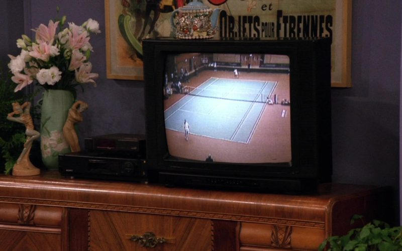 Sony Video Cassette VHS Recorder in Friends Season 2 Episode 14