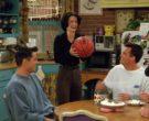 Spalding Basketball Held by Courteney Cox (Monica Geller) in...