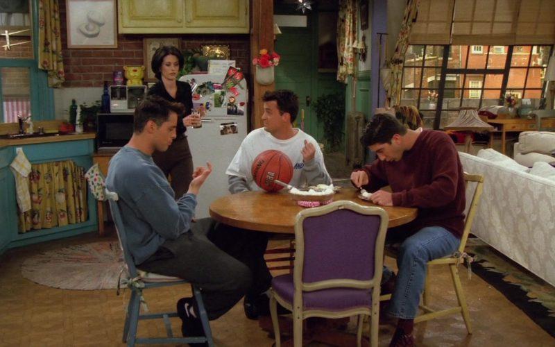 Spalding x NBA Basketball in Friends Season 2 Episode 6