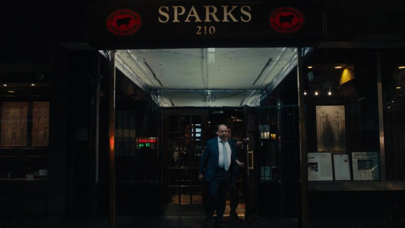 Sparks Steak House in Billions Season 4 Episode 1: Chucky Rhoades's Greatest Game (2019) TV Show Product Placement