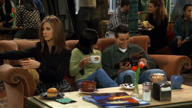 """Sports Illustrated Magazine Held by Matt LeBlanc (Joey Tribbiani) in Friends Season 3 Episode 18 """"The One With the Hypnosis Tape"""" (1997) - TV Show Product Placement"""