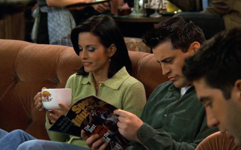 Sports Illustrated Magazine Held by Matt LeBlanc (Joey Tribbiani) in Friends Season 3 Episode 18 (3)