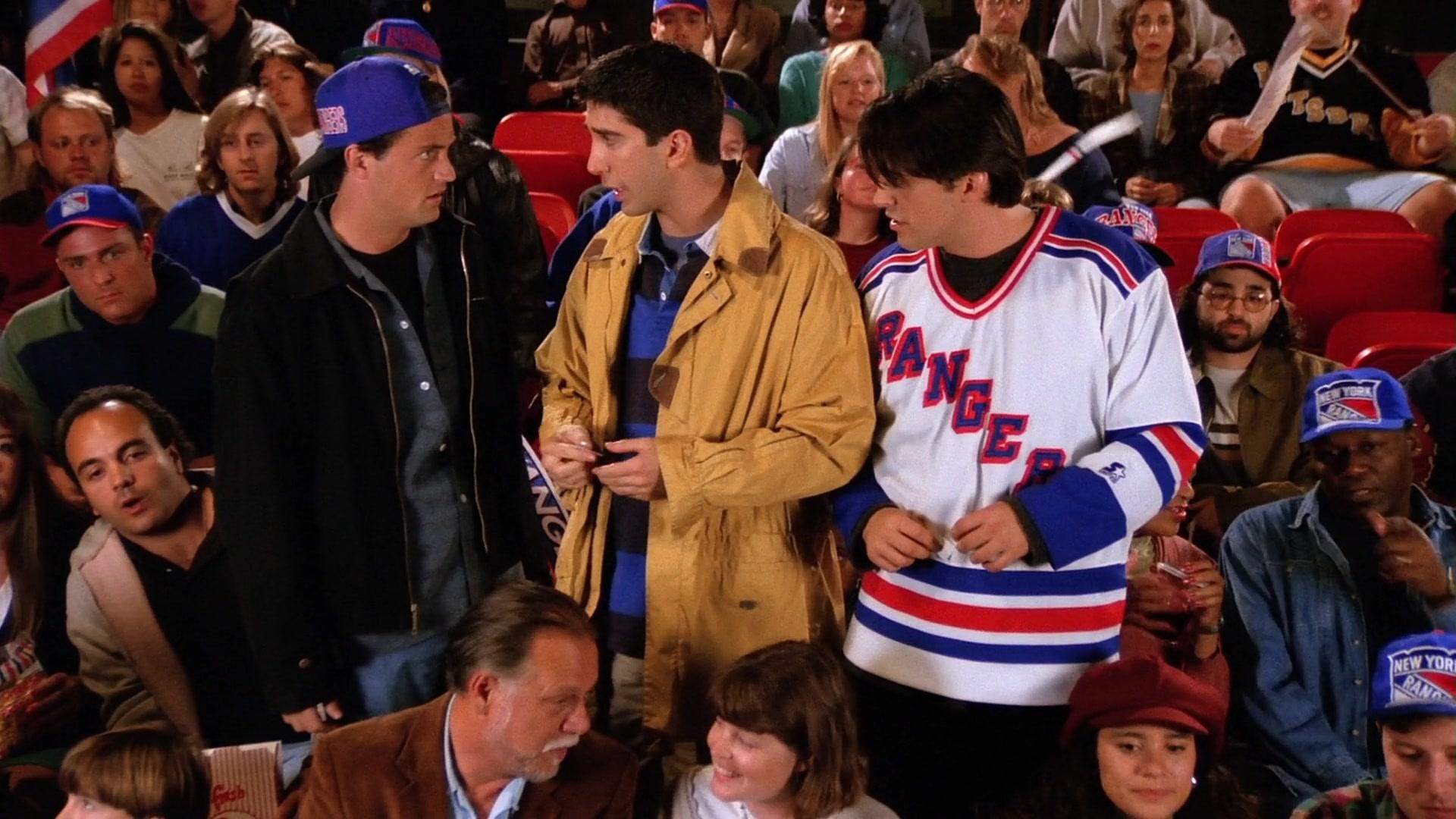 Starter New York Rangers Jersey Worn by Matt LeBlanc (Joey Tribbiani
