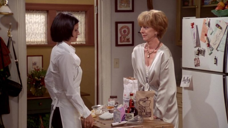 """Sugar In The Raw in Friends Season 4 Episode 3 """"The One With the 'Cuffs"""" (1997) - TV Show Product Placement"""