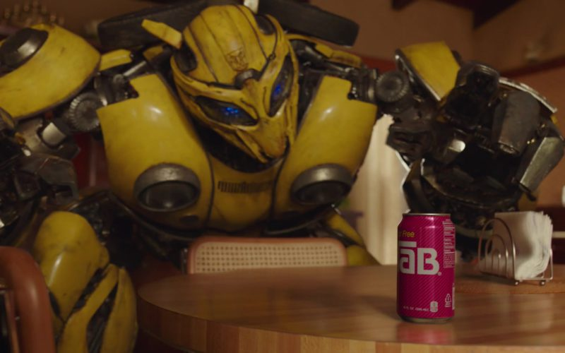 TAB (Coca-Cola) Can Smashed by Transformer in Bumblebee (1)