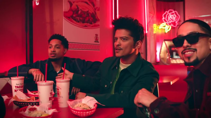 """Tacos Mexico Restaurant in """"Please Me"""" by Cardi B & Bruno Mars (2019) Official Music Video Product Placement"""