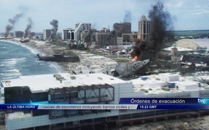 Televisión Española (TVE) Broadcast Television Network in Aquaman