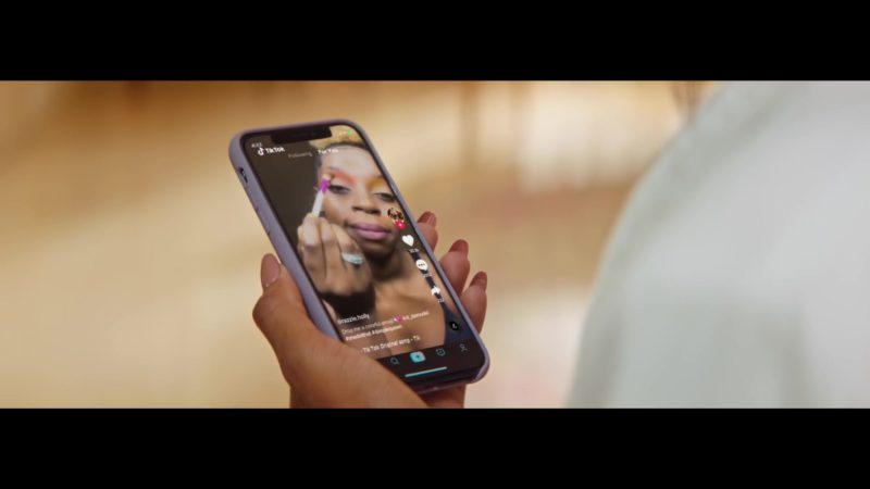 """TikTok iOS Application Used by Ciara in """"Thinkin Bout You"""" (2019) - Official Music Video Product Placement"""