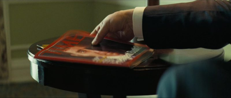 Time Magazine in Vice (2018) Movie Product Placement