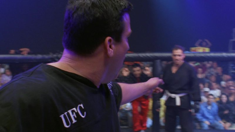 """UFC (Ultimate Fighting Championship)  in Friends Season 3 Episode 24 """"The One With the Ultimate Fighting Champion"""" (1997) TV Show"""