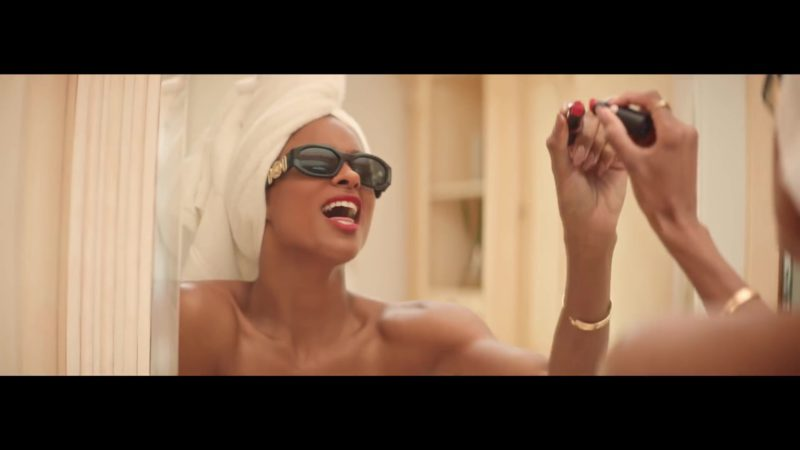 "Versace Sunglasses Worn by Ciara in ""Thinkin Bout You"" (2019) Official Music Video"