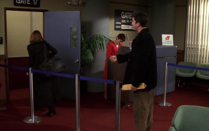 Virgin Atlantic Airlines in Friends Season 4 Episode 18