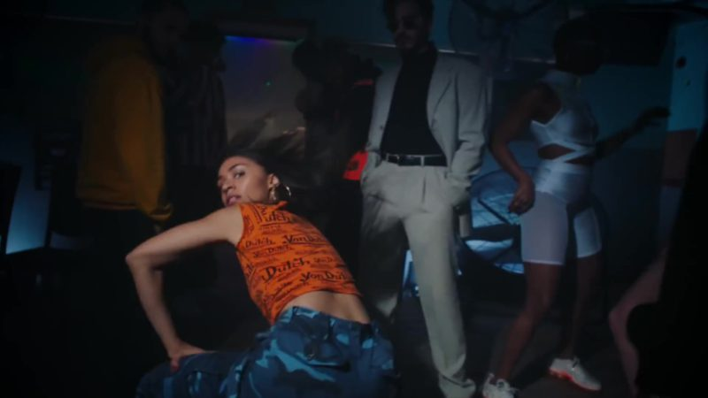"Von Dutch Women's Tee in ""Boasty"" by Wiley, Sean Paul, Stefflon Don & Idris Elba (2019) Official Music Video Product Placement"