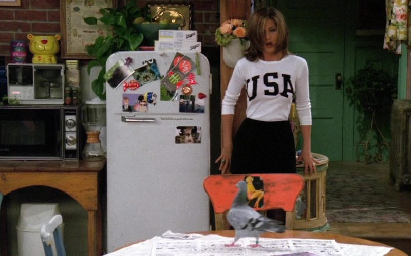 Westinghouse Refrigerator in Monica's Apartment in Friends Season 2 Episode 4 (1)