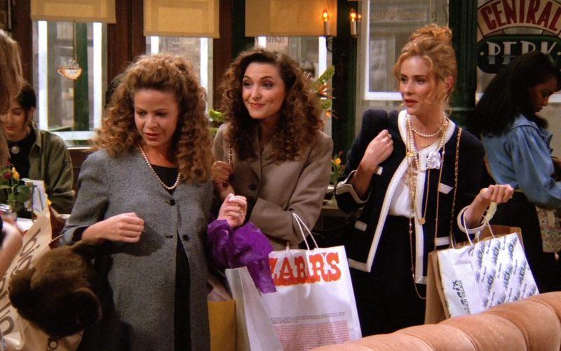 Zabars Store Paper Bag in Friends Season 1 Episode 4 (3)