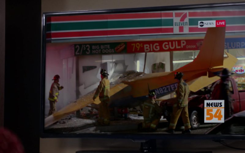 7-11 Store and ABC News TV Channel in Veep (1)