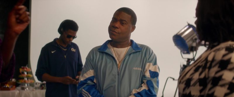 Adidas Tracksuit (Blue) Worn by Tracy Morgan in What Men Want (2019) - Movie Product Placement