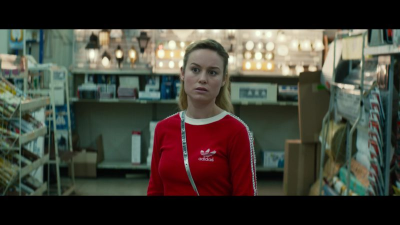Adidas Women's Red Shirt Worn by Brie Larson in Unicorn Store (2017) - Movie Product Placement