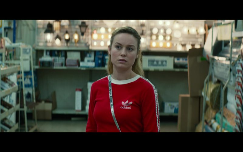 Adidas Women's Red Shirt Worn by Brie Larson in Unicorn Store (2)