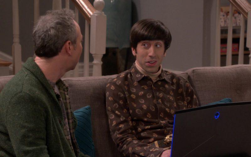 Alienware Laptop Used by Simon Helberg (Howard Wolowitz) (5)