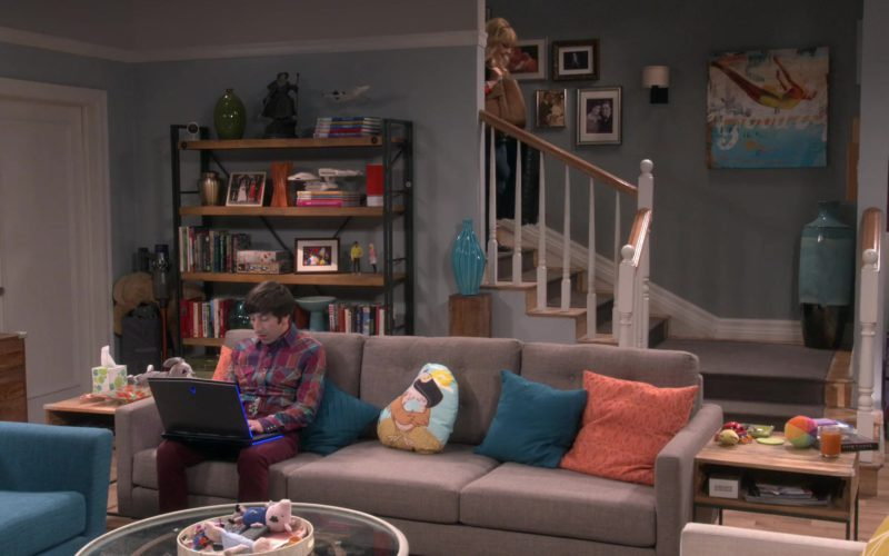 Alienware Laptop Used by Simon Helberg (Howard Wolowitz) in The Big Bang Theory (1)