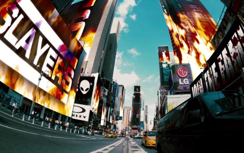 Alienware, Oakley and LG Billboards in Gamer