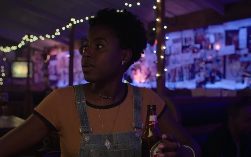 Amstel Beer Drunk by Kirby Howell-Baptiste in Barry (1)