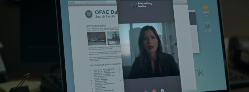 Apple FaceTime Application in Crypto (2019) Movie Product Placement