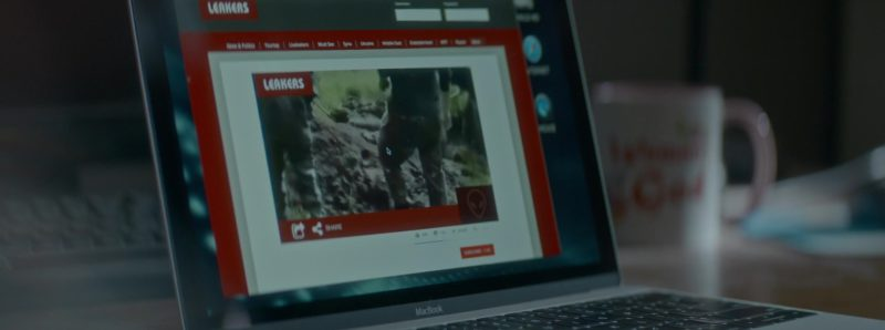 Apple MacBook Pro Laptop Used by Jeremie Harris in Crypto (2019) Movie Product Placement
