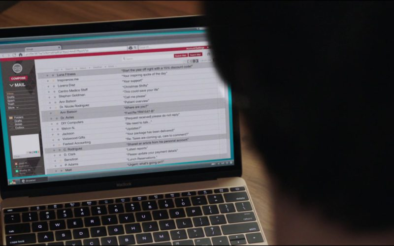 Apple MacBook Laptop Used by Keanu Reeves in Replicas