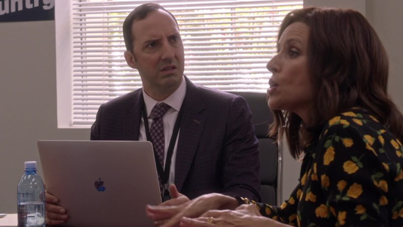 """Apple MacBook Laptop Used by Tony Hale in Veep - Season 7, Episode 4, """"South Carolina"""" (2019) - TV Show Product Placement"""