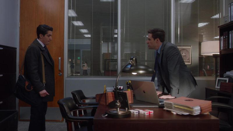 Apple MacBook Pro Laptop Used by Ben Rappaport in For the People - Season 2, Episode 7, The Boxer (2019) - TV Show Product Placement