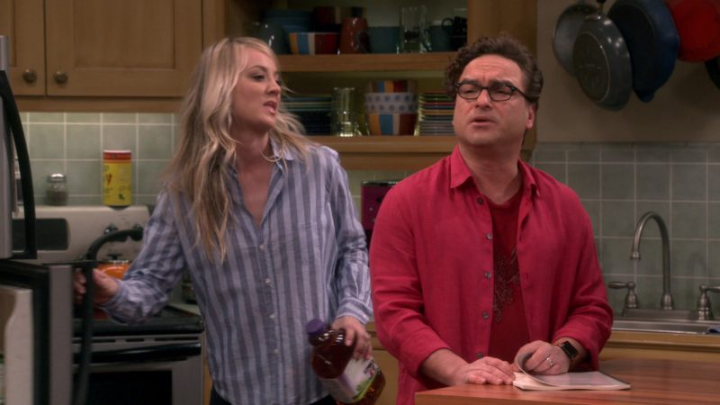 "Apple Smartwatch Worn by Johnny Galecki (Leonard Hofstadter) in The Big Bang Theory - Season 12, Episode 20, ""The Decision Reverberation"" (2019) - TV Show Product Placement"