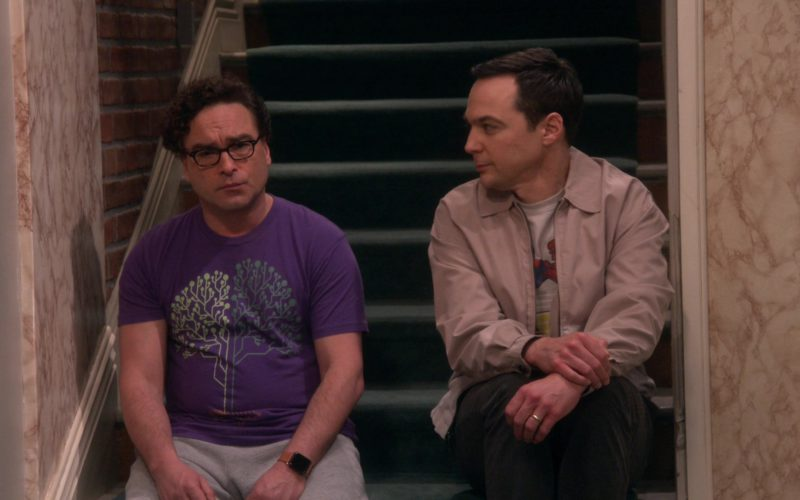 Apple Smartwatch Worn by Johnny Galecki (Leonard Hofstadter) in The Big Bang Theory (5)
