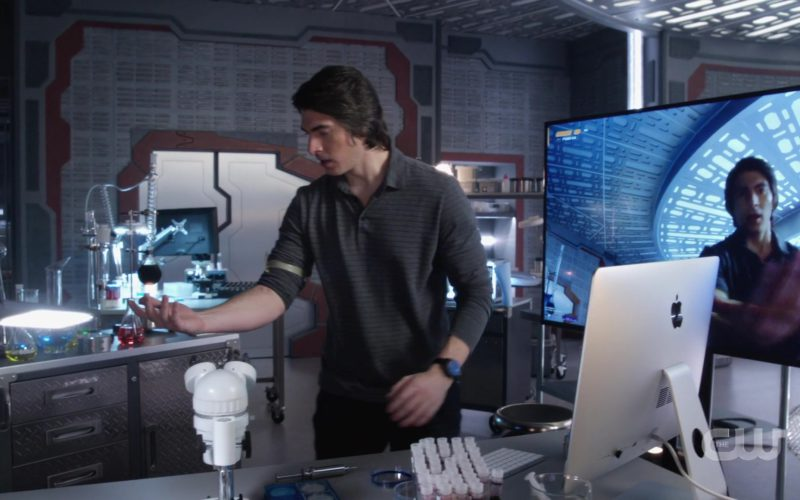 Apple iMac Computer Used by Brandon Routh (Atom) in DC's Legends Of Tomorrow (1)