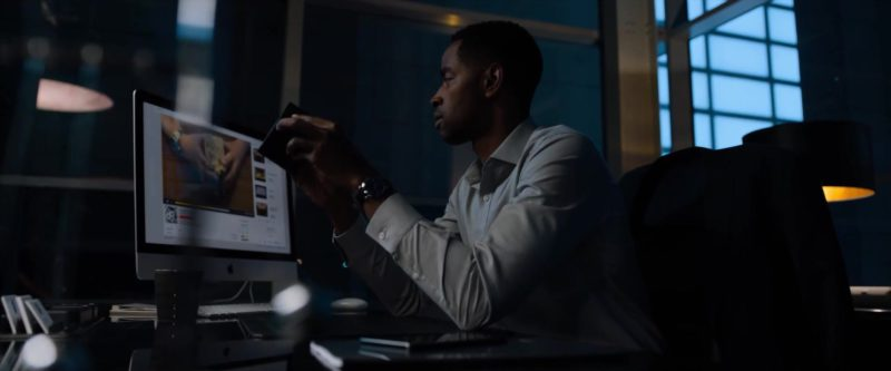 Apple iMac Computer Used by Jay Ellis in Escape Room (2019) Movie