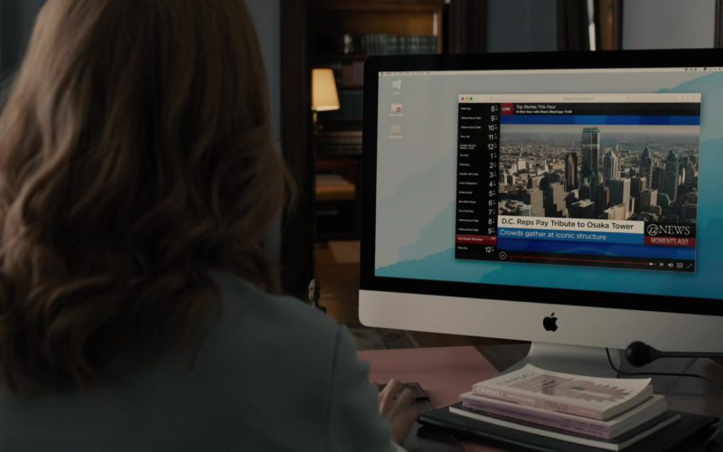Apple iMac Computer Used by Sarah Paulson in Glass (2)