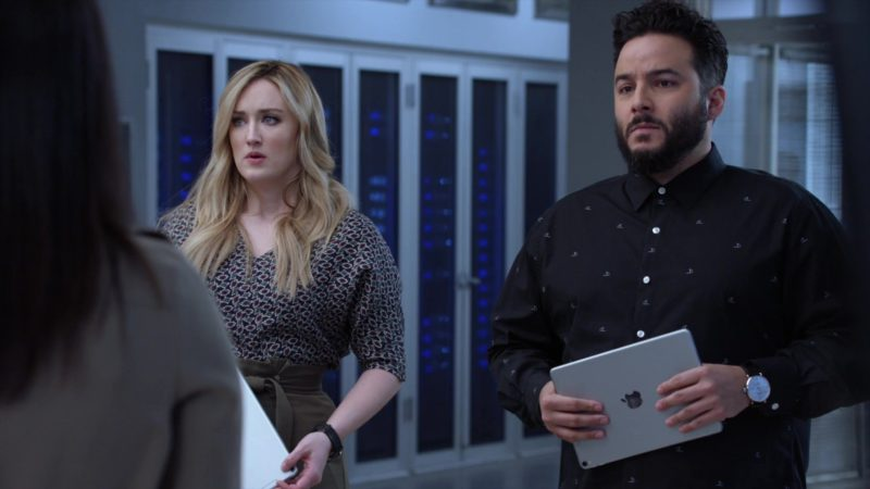 Apple iPad Computer Tablet Used by Ennis Esmer in Blindspot - Season 4, Episode 19, Everybody Hates Kathy (2019) - TV Show Product Placement