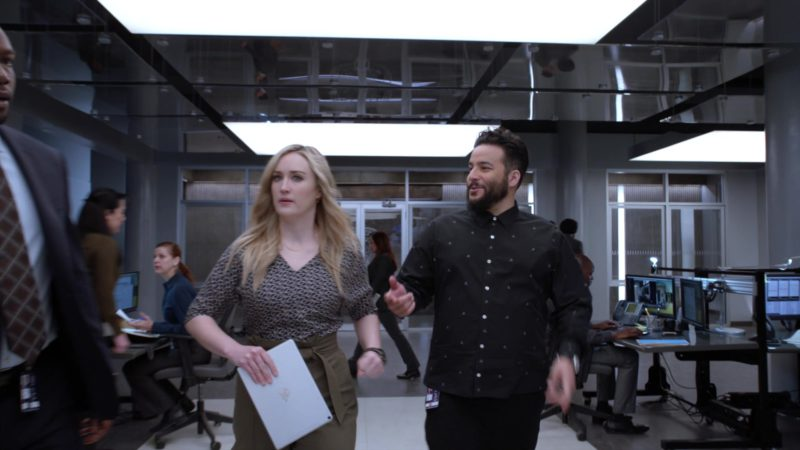 """Apple iPad Tablet Used by Ashley Johnson in Blindspot - Season 4, Episode 19, """"Everybody Hates Kathy"""" (2019) - TV Show Product Placement"""