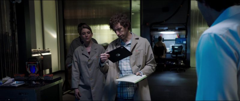 Apple iPad Tablet Used by Thomas Middleditch in Replicas (2018) Movie Product Placement