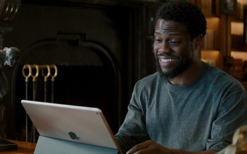 Apple iPad Tablet With Keyboard Case Used by Kevin Hart in The Upside (1)