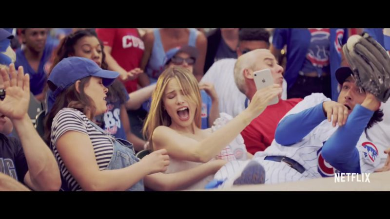 Apple iPhone Smartphone Held by Halston Sage in The Last Summer (2019) Movie