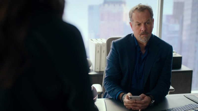 Apple iPhone Smartphone Used by David Costabile (Mike Wagner) in Billions – Season 4 Episode 5, A Proper Sendoff (2019) TV Show Product Placement