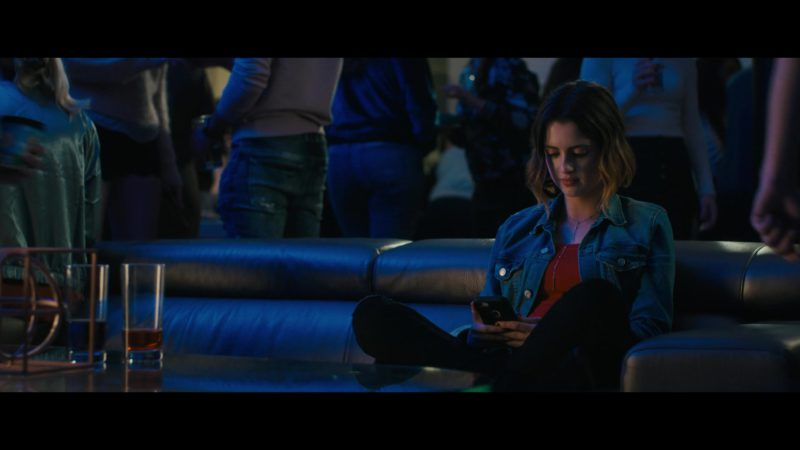 Apple iPhone Smartphone Used by Laura Marano in The Perfect Date (2019) Movie Product Placement