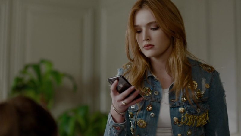 Apple iPhone Smartphone Used by Maddison Brown in Dynasty - Season 2, Episode 17, How Two-Faced Can You Get (2019) TV Show Product Placement