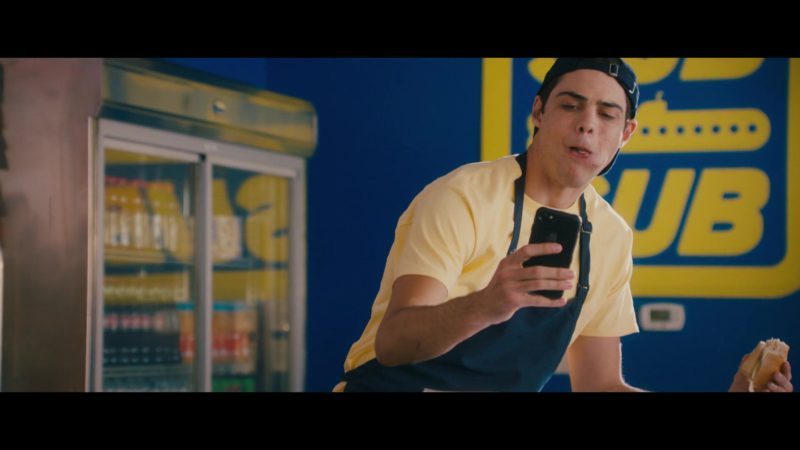 Apple iPhone Smartphone Used by Noah Centineo in The Perfect Date (2019) Movie Product Placement
