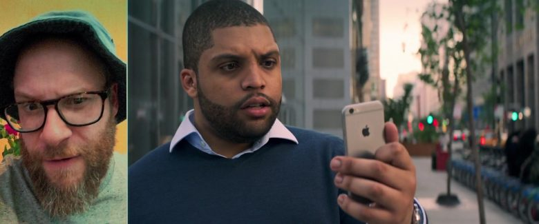 Apple iPhone Smartphone Used by O'Shea Jackson Jr. (Ice Cube) in Long Shot (2019) - Movie Product Placement