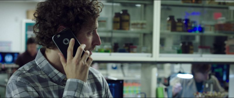 Apple iPhone Smartphone Used by Thomas Middleditch in Replicas (2018) Movie Product Placement