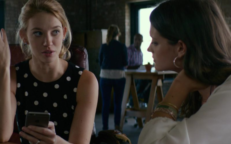 Apple iPhone Smartphone Used by Yael Grobglas in An Interview with God (1)